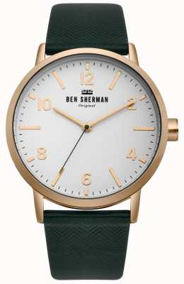 Ben Sherman Mens biig portobello reloj de espina de pescado WB070NBR