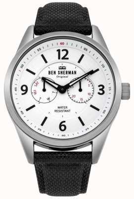 Ben Sherman Reloj utilitario grande para hombre de carnaby WB069WB
