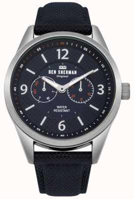Ben Sherman Reloj utilitario grande para hombre de carnaby WB069UU