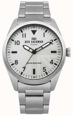 Ben Sherman Reloj militar para hombre de Carnaby WB074SM