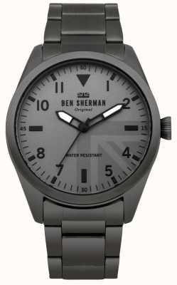 Ben Sherman Reloj militar para hombre de Carnaby WB074BSM