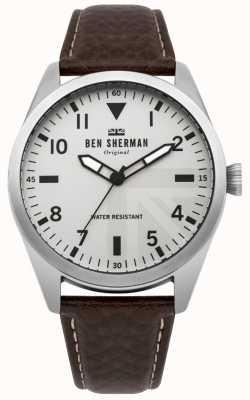 Ben Sherman Reloj militar para hombre de Carnaby WB074BR