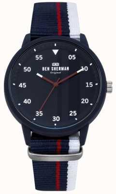 Ben Sherman Reloj azul para hombre WB076U