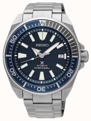 Seiko Prospex samurai automático 200m azul marca SRPB49K1