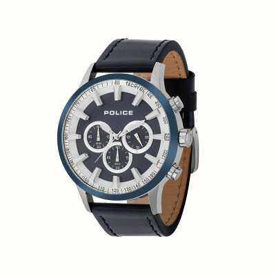 Police Reloj cronógrafo de impulso policial para hombre 15000JSTBL/03