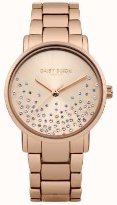 Daisy Dixon Dial de oro rosado de la pulsera de oro rosa de la pulsera DD053RGM