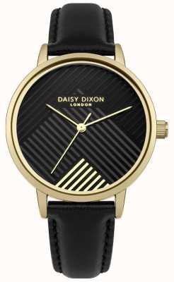 Daisy Dixon Correa negra con esfera negra mate DD056BG