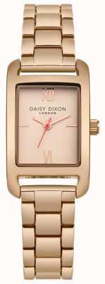 Daisy Dixon Pulsera de oro rosa rosa satén dorado DD057RGM