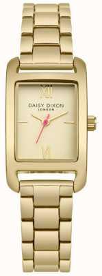 Daisy Dixon Pulsera dorada de oro satinado DD057GM