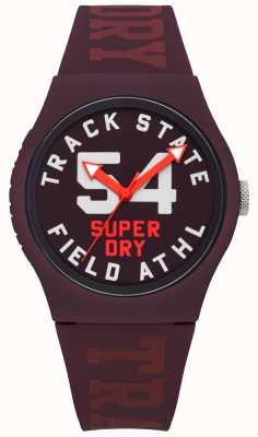 Superdry Marca de estado de la pista de mulberry face dial face more SYL182RR