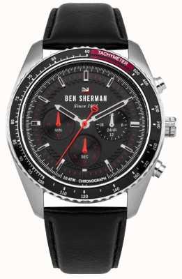 Ben Sherman El ronnie cronógrafo sunray dial rojo destaca WBS108RB
