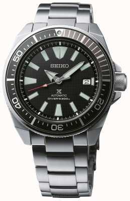 Seiko Prospex samurai estampado dial rosca corona de acero inoxidable SRPB51K1