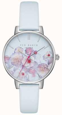 Ted Baker Correa de piel para mujer de kate azul y rosa con estampado floral TEC0025012