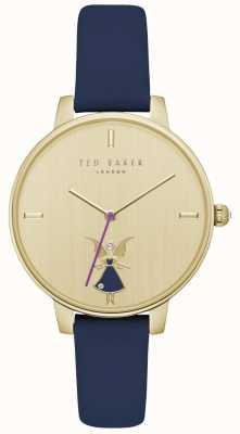 Ted Baker Womans kate fairy gold case correa de cuero azul TE15162005