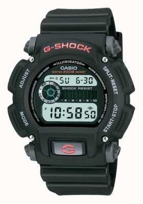 Casio Cronógrafo de resina negra digital G-shock DW-9052-1VER
