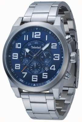 Timberland Tilden azul multi dial brazalete de acero inoxidable 15247JS/03M