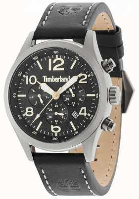 Timberland Ashmont negro correa de cuero negro multi marcado 15249JSU/02