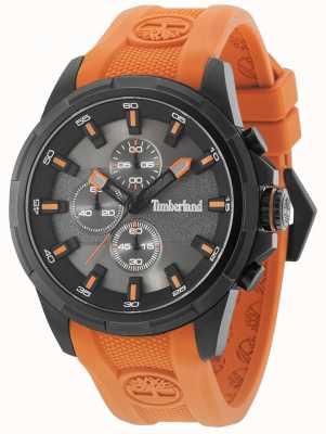 Timberland Boxford orange silicona correa pistola metal gris marcar 15253JSB/61P