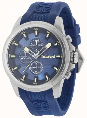 Timberland Correa azul de silicona Boxford dial azul 15253JS/03P