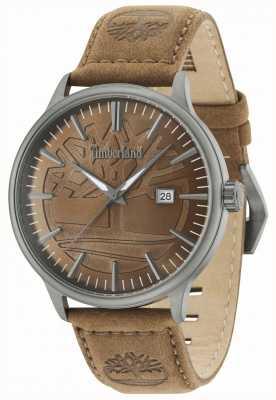 Timberland Correa de cuero marrón marrón Edgemont marrón 15260JSU/12