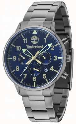 Timberland Spaulding azul multi dial gun metal pulsera 15263JSU/03M