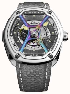 Dietrich Correa gris de acero inoxidable con tiempo ecológico OT-3_SHINE