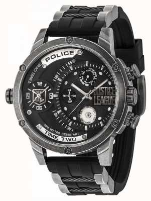 Police Edición limitada del distribuidor de reloj de Justice League edición 14536EDG