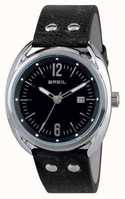 Breil Beaubourg acero inoxidable esfera negra correa negra TW1669