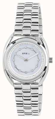 Breil Pequeño reloj de madreperla blanco de acero inoxidable TW1650