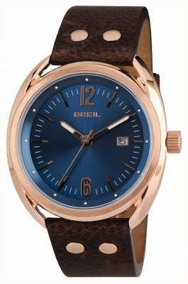 Breil Beaubourg acero inoxidable ipr correa azul correa marrón TW1673