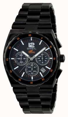 Breil Manta sport acero inoxidable ip negro cronógrafo esfera negra TW1686