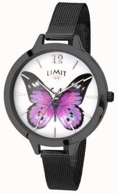Limit Reloj secreto de mariposa negro de jardín para mujer 6274.73