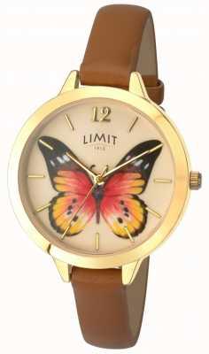 Limit Reloj secreto de cuero mariposa para mujer 6275.73