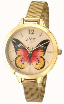 Limit Reloj de mariposa de malla de oro para jardín secreto para mujer 6276.73