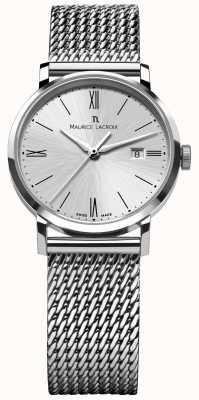 Maurice Lacroix Reloj de malla de acero inoxidable para mujer Eliros EL1084-SS002-110-1
