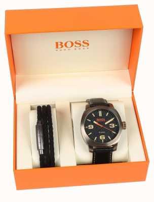Hugo Boss Orange Juego de regalo para hombre y pulsera de capetown para hombre 1570052