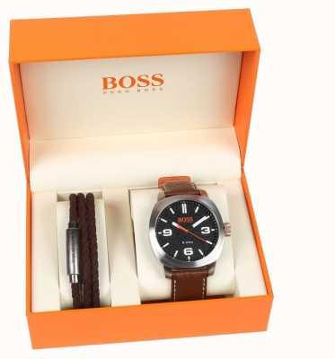 Hugo Boss Orange Juego de regalo para hombre y pulsera de capetown para hombre 1570051