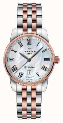 Certina Reloj automático para mujer ds podium C0010072211300