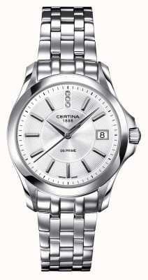 Certina Reloj ds Prime de diamantes para mujer C0042101103600