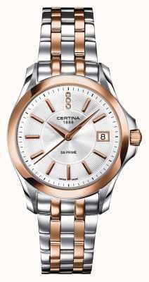 Certina Reloj ds Prime de diamantes para mujer C0042102203600