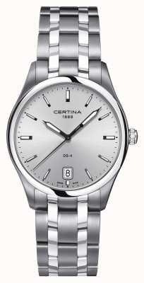 Certina Reloj para hombre ds-4 de acero inoxidable C0224101103100