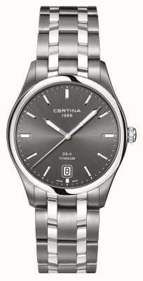 Certina Reloj de titanio ds-4 para hombre C0224104408100