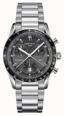 Certina Mens ds-2 precidrive reloj cronógrafo C0244471108100