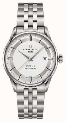 Certina Reloj automático ds-1 powermatic 80 para hombre C0298071103160