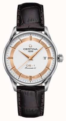 Certina Reloj para hombre ds-1 powermatic 80 himalaya edición especial C0298071603160