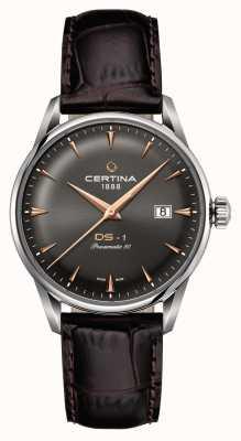 Certina Reloj automático ds-1 powermatic 80 para hombre C0298071608101