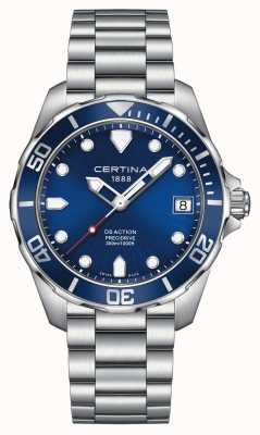 Certina Mens ds action precidrive 300m reloj C0324101104100