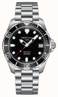 Certina Mens ds action precidrive 300m reloj C0324101105100
