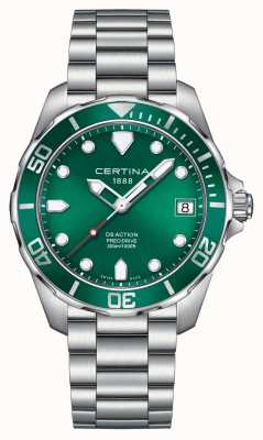Certina Mens ds action precidrive 300m reloj C0324101109100