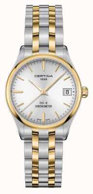 Certina Reloj cronómetro de cuarzo ds-8 para mujer C0332512203100